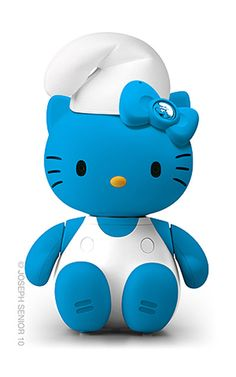Hello Kitty: Pitufo.