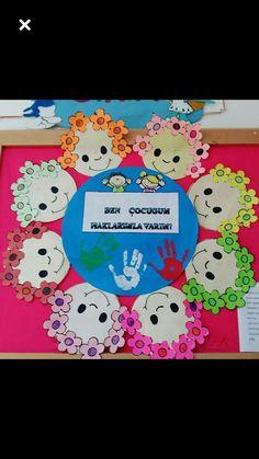Fun Crafts For Kids, Pre School, Nursery Art, Kindergarten, Chart, Education, Diy, Puppets, Mother's Day