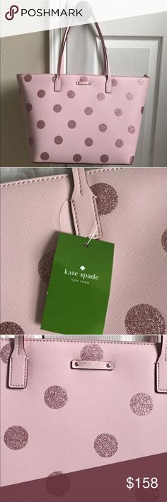 """Last one Kate Spade large tote NWT. 15""""L x 11.5"""" L x 6.5"""" D. No trades  kate spade Bags Totes"""