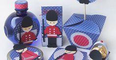Participação na revista Festas infantis com projetinhos de tema soldadinho de chumbo (punch art);     Bjm