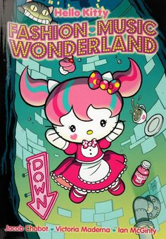 Hello Kitty stars in her own comic!