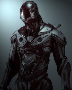 This Guy in the Cybernetic suit looks real good. #Cyberpunk fantasies fulfilled