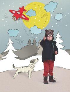 Gap advertorial / Kikimora magazine by Magdalena Pankiewicz, via Behance