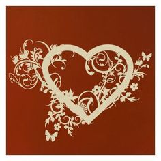 """Style and Apply Spring Love Wall Decal Size: 22"""" H x 31"""" W, Color: Silver"""
