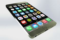 The iPhone 7 release date may be a long while away but rumors about what the next Apple smartphone might look like have already surfaced. Here are some new iPhone 7 concept images that show a bezel-free device without a home button: Apple Iphone, Iphone 6, Iphone 7 Plus, Iphone Event, Mac Book, Iphone 7 Concept, Radios, Iphone 8 Features, Iphone 7 Review