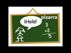 Learn the names of classroom objects in Spanish and listen to their pronunciation. Spanish Vocabulary, Spanish Class, Spanish Lessons, Learning Spanish, School Items, I School, School Classroom, Spanish Language, Foreign Languages