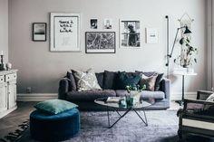 Johanna Bradford's beautiful home | scandinavian | love song | Bloglovin'