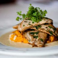 Pan-fried+Angelfish+with+Carrot+Pur�e+and+a+Cumin+and+Orange+Velout�+|+Crush+Magazine+Recipe