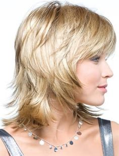 Image result for Short to Medium Shag Hairstyles