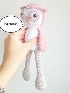 Owl Amigurumi Pattern