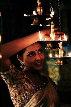 """""""Diyas - an integral part of Diwali festival in India."""" I grew up around these and always loved them. They bring so much warmth, light and calm to a room. The humble diya. Festivals Of India, Indian Festivals, Whatsapp Dp, Mori Girl, Bollywood Stars, Happy Diwali Images Hd, Happy Images, Diwali Pics, Diwali Photography"""