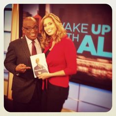 Lovin' the book on Wake Up With Al on The Weather Channel