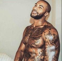 Fine Black Men, Gorgeous Black Men, Handsome Black Men, Fine Men, Black Guys, Black Man, Chocolate Men, Hommes Sexy, Beard Gang