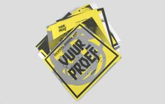 VUURPROEF (Ordeal) by ATTAK, via Behance