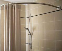 1000 images about small showers on pinterest shower - Tringle rideau de douche ikea ...