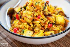 Vegetarian Recipes, Cooking Recipes, Healthy Recipes, Vegan Lunch Box, Big Meals, Tofu, Food Inspiration, Chicken Recipes, Clean Eating