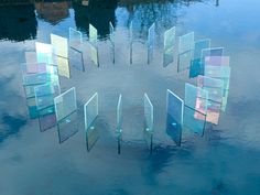 Optically Addicted: Chris Wood Dichroic glass Dichroic (meaning two...