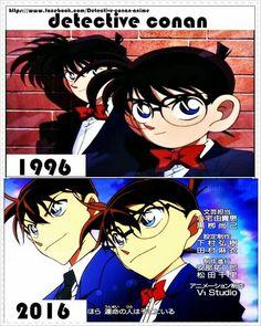 That's a dramatic change Detective, Gosho Aoyama, Kaito Kid, Detektif Conan, Kudo Shinichi, Romance, Magic Kaito, Case Closed, Manga