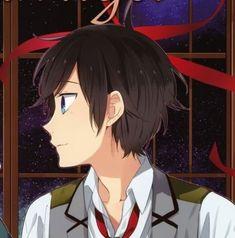 Manga Anime Girl, Anime Girl Drawings, Anime Couples Drawings, Anime Guys, Anime Art, Cover Wallpaper, Animated Icons, Matching Profile Pictures, Horimiya