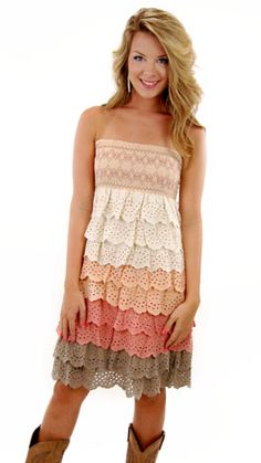 Sandy Cay Dress. This would be adorable with a blue jean jacket!
