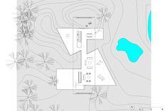 casa projeto - east hampton - angelo bucci - 2007 - plan f1
