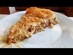 Εύκολη και νόστιμη μελιτζανόπιτα!!! - YouTube Filo Recipe, Apple Pie, Lasagna, Macaroni And Cheese, Cooking Recipes, Dinner, Ethnic Recipes, Desserts, Food