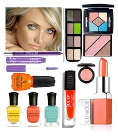 LIGHT SPRING BEAUTY by clairecoloursme on Polyvore featuring polyvore, beauty, Clinique, Butter London, Christian Dior, Elizabeth Arden, NYX, MAC Cosmetics, Urban Decay, Julep, Deborah Lippmann and China Glaze