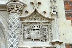 Detail from Chateau de Blois - which also has a horse & rider above the door