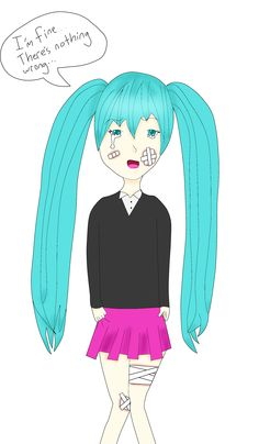 Rolling Girl Hatsune Miku Drawing