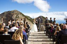 Top of the Mountain Wedding kicking horse mountain resort wedding