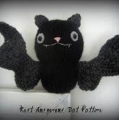 Knit Bat Amigurumi Pattern  - via @Craftsy