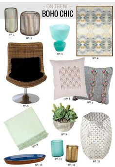 // Boho Chic with 55 Downing Street by Modern Eve
