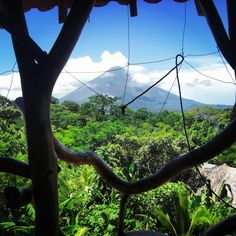 Best view from a hostel ever! Isla de Ometepe in Nicaragua, Central America