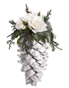 "36"" Pre-Lit Green Cedar Pine Artificial Christmas Wreath Clear Lights"