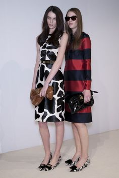 Burberry- Love blue& red dress