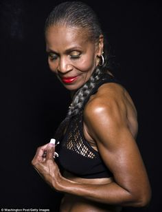 Inspiration: Ernestine Shepherd, 77, from Maryland, U.S. is one of the world's oldest bodybuilders
