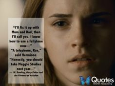 18 Magical Movie and Book Quotes from Hermione Granger brought to you by Quotes Worth Repeating
