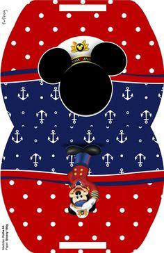 Caja almohada Mickey.