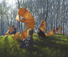 Jimmy Lawlor - Babes in the Wood - Limited Edition Prints - Giclee on Acid Free Watercolour paper Jimmy Lawlor, Cute Cartoon Girl, Limited Edition Prints, Large Prints, Watercolor Paper, Fantasy Art, Art Projects, Art Gallery, Wood