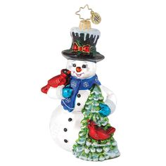 Image detail for -Christopher Radko Ornaments > Evergreen Friends - Christopher Radko ...