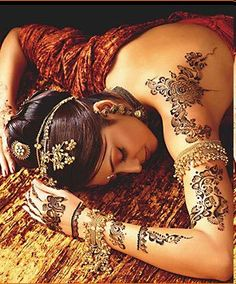 bridal henna designs for hands and feet - Bing Images