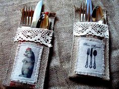 ok these ones r hideous buut i like the idea of setting a holder like this on the plate w napkin in it