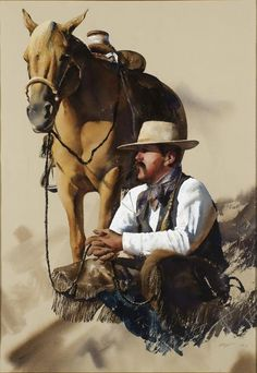 Cowboy by William Matthews. ❣Julianne McPeters❣ no pin limits
