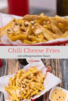 Chili Cheese Fries für zu Hause