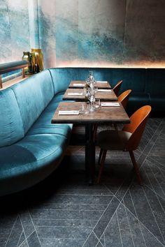 Salle restaurant bar Hôtel National des Arts et Métiers Paris #restaurantdesign