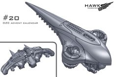 20. PHR preview. A heavy scout drone with a missile upgrade for the Triton.