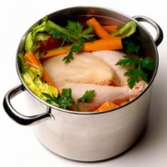 How to Poach a Chicken - Photo © Brian Hagiwara / Getty Images