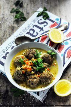Mais pourquoi est-ce que je vous raconte ça... Dorian cuisine.com: Direction Istanbul ! Et une soupe aux boulettes de viande diablement parfumée !
