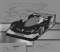 Lemans style racer,...