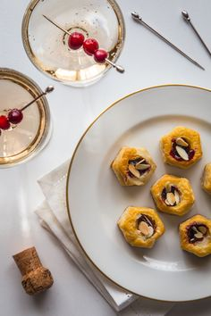 Vol au Vent appetizers with brie and jam are quick, simple, but oh so elegant and perfect for your holiday party.